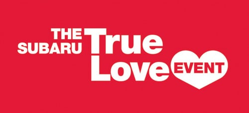 The Subaru 'True Love' Event
